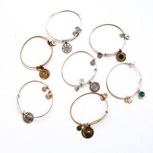 Alex and Ani Bundle Lot of 7 Bracelets